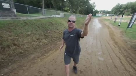 AMA Pro Flat Track's Facebook Wall: Too cool. Cliff Carr explains the mechanics behind the gnarly jump at the Peoria TT....great explanation of the 'why' and 'how' of this particular jump on the TT... | California Flat Track Association (CFTA) | Scoop.it
