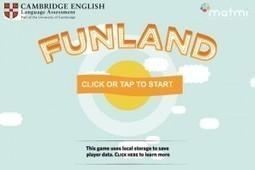 [Test] Funland pour apprendre l'anglais - Advergame   Jeu et Marketing   Scoop.it
