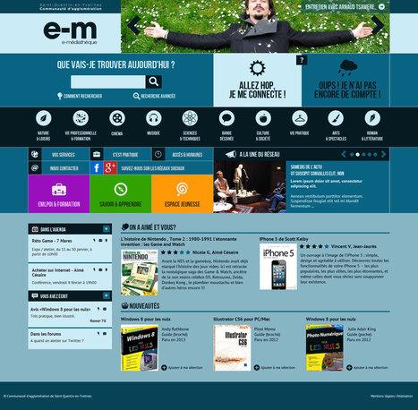 E-médiathèque : la culture à portée de clic | Pour un nouveau service de lecture numérique en bibliothèque : retour d'expérience étagère numérique expérimentale de la bibliothèque de l'enssib | Scoop.it