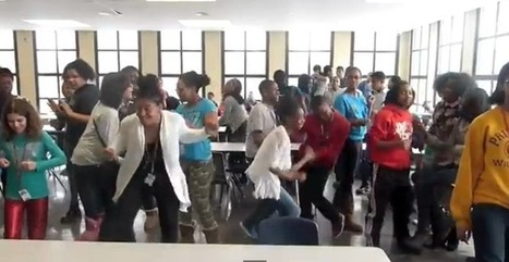 Watch Kenwood Academy Get Down To Pharrell Williams's 'Happy' | Young Power | Scoop.it