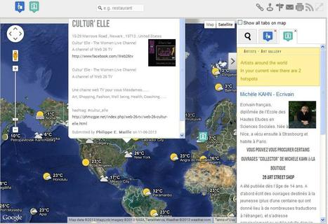 Artists Map view - #26artstreet ::: COFFEE BREAK , Web 26 TV & Cozy 4 You ::: The PHMC GPE Social Network - Social network, Online & Offline Meetup, Social Web TV channels | Road Gallery -  Your exposure is here! | Scoop.it