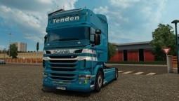 Tenden Skin for Scania RJL | ETS2 | Scoop.it