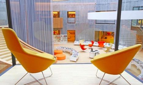 La bibliothèque Oscar Niemeyer : lier architecture et lecture, au Havre - Actualitté.com | Bibliothèques en ligne | Scoop.it