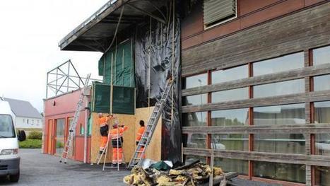 Après l'incendie. L'espace culturel inutilisable pour plusieurs mois - Ouest-France | CC Jovence | Scoop.it