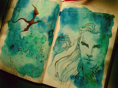 Beautiful Watercolors of Characters From 'The Lord of the Rings' and 'The Hobbit'   'The Hobbit' Film   Scoop.it
