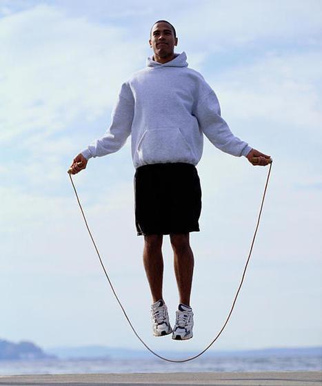 5 exercices de musculation à la corde à sauter , Un bon accessoire pour muscler tout son corps - Masculin.com | La musculation à domicile | Scoop.it