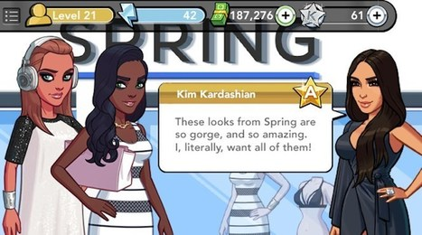 Hip Shopping App Spring Is Linking With Kim Kardashian's Mobile Game I Digiday | BRAND CONTENT | Scoop.it