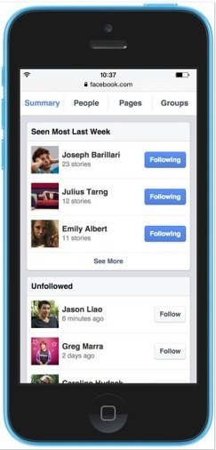 Facebook now lets you unfollow people, Pages, and Groups from one place | digital marketing strategy | Scoop.it