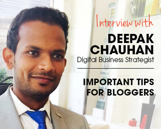 Interview with Deepak Chauhan from Vocso, Sharing blogging tips for bloggers | Business & Marketing | Scoop.it