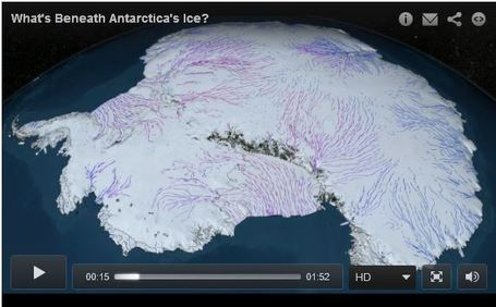 Land Unseen: What's Beneath Antarctica's Ice? | AP HUMAN GEOGRAPHY DIGITAL  TEXTBOOK: MIKE BUSARELLO | Scoop.it