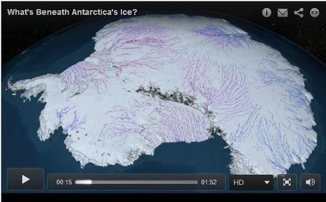 Land Unseen: What's Beneath Antarctica's Ice? | Geography Education | Scoop.it