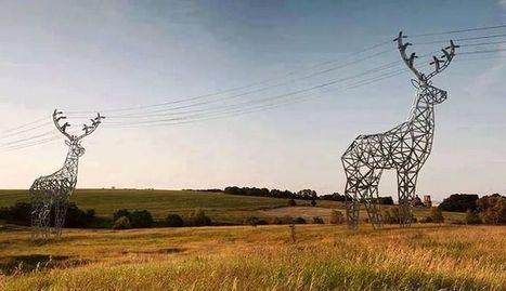 De pylône en paysage | Géographie : les dernières nouvelles de la toile. | Scoop.it