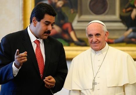 Venezuelský prezident po stretnutí s pápežom zvolal okrúhly stôl s opozíciou | Správy Výveska | Scoop.it