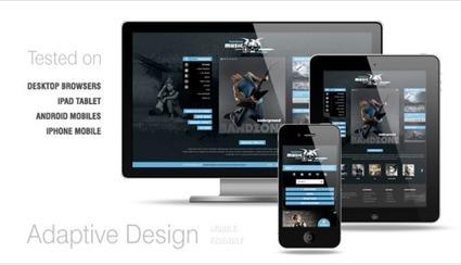 Amazing Responsive Website Design | Narmadatech | Scoop.it
