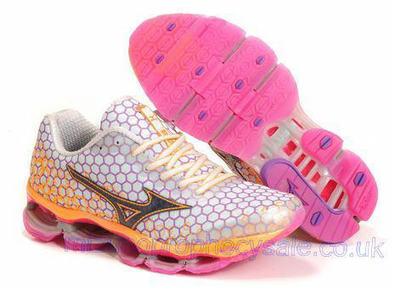 Mizuno Wave Prophecy 3 Womens Running Shoes White Orange.jpg (465x341 pixels)   fashionshoes   Scoop.it