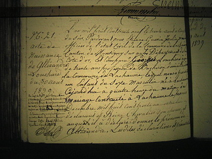 L comme LeChapt dit Louchard - Le blog de karineandco.over-blog.fr | Rhit Genealogie | Scoop.it