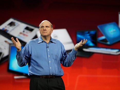 Former Microsoft CEO Steve Ballmer tells us his successor is doing great, except for 2 small things | I can explain it to you, but I can't understand it for you. | Scoop.it