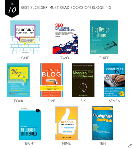 Julip Made: The 10 Best Blogger Must Read Books on Blogging   internet marketing   Scoop.it