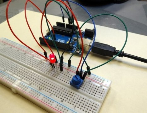 Arduino Circuit to Dim LED with Potentiometer - | Arduino, Netduino, Rasperry Pi! | Scoop.it