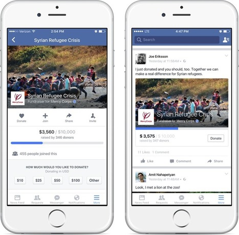 Introducing New Tools for Nonprofits | Facebook Newsroom | Marketing For Non Profits | Scoop.it