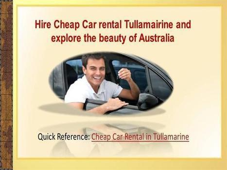 http://goo.gl/q9t0G Cheap Car Rental in Tullamarine: One of the best holiday destinations is Australia | Car Rental | Scoop.it