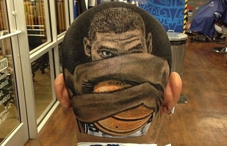 This Spurs Fan Got Tim Duncan Shaved Into the Back of His Head | Ruffhaus Media | Scoop.it