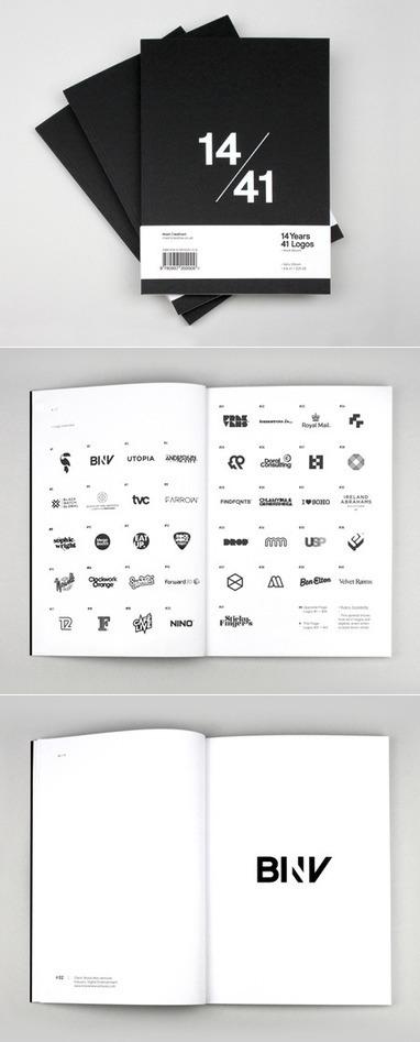 14/41—14 Years, 41 Logos | AisleOne | Corporate Identity | Scoop.it