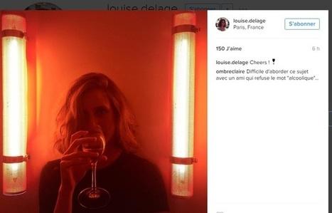 Le (faux) compte Instagram de Louise Delage était bien une (vraie) campagne contre l'alcoolisme | CommunityManagementActus | Scoop.it