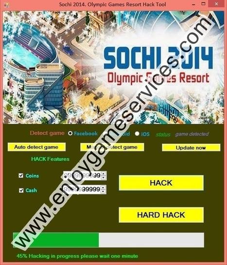 Sochi 2014. Olympic Games Resort Hack Tool | game enjoy | Scoop.it