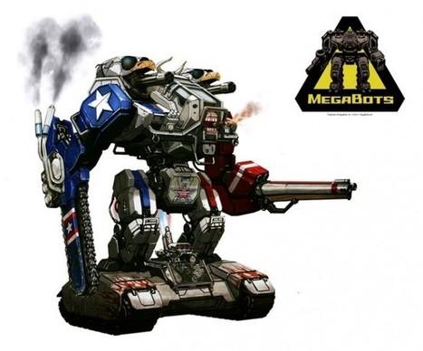 Duel de robots géants : les USA passent par KickStarter pour battre le Japon | Vous avez dit Innovation ? | Scoop.it