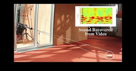 Algorithm extracts audio from silent video using vibrations | leapmind | Scoop.it