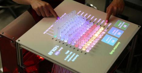 "Um ecrã ""físico"" para gráficos 3D | Heron | Scoop.it"