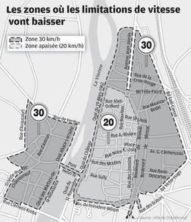 Châtellerault apaise son centre | Revue de web de Mon Cher Vélo | Scoop.it