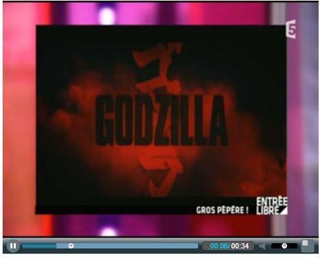 Entrée Libre - France 5   Godzilla - TV & Web Coverage   Scoop.it