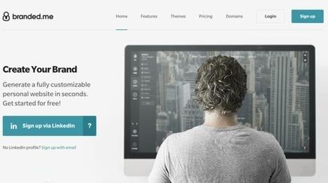 Branded.me, il profilo LinkedIn diventa un sito personale - Wired.it | Scoop Social Network | Scoop.it