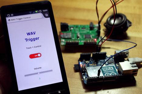 WAV Trigger Arduino library and first example | Arduino, Netduino, Rasperry Pi! | Scoop.it