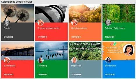 Cómo usar las Colecciones de Google Plus. Guía   El Aula Virtual   Scoop.it