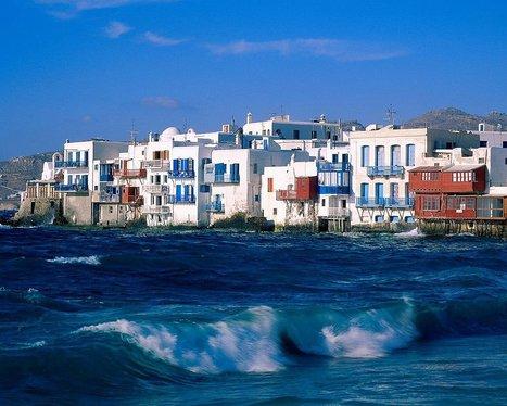 Good morning from Little Venice of #Mykonos #Greece | Travel To Mykonos | Scoop.it