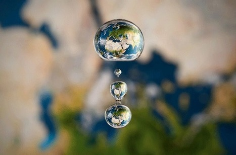World Map as Seen Through a Drop of Water | Spatial in Schools | Scoop.it