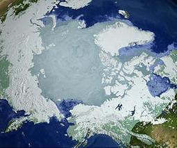 Arctic sea ice volume up from record low | Sustain Our Earth | Scoop.it