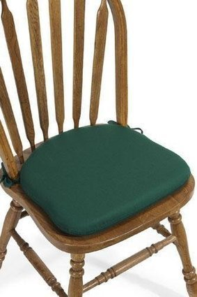 Top Rates kitchen chair cushions with ties 2014 | for home | Scoop.it