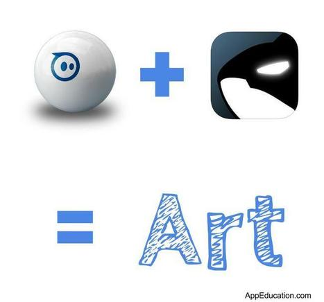 Collaborative Art with Sphero and Tickle App | idevices for special needs | Scoop.it