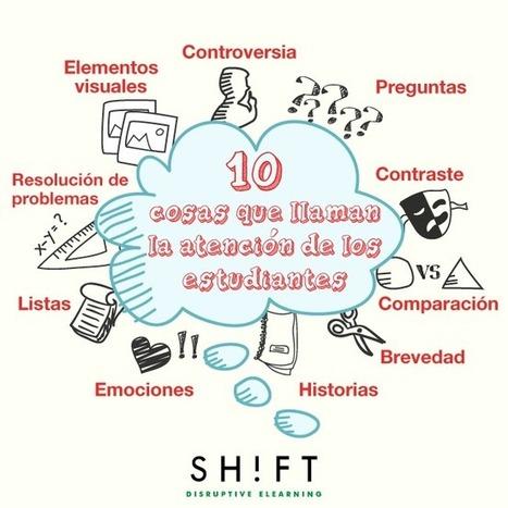 10 cosas que llaman la atención de los estudiantes (y cómo aplicarlo en eLearning) | Creatividad en la Escuela | Scoop.it