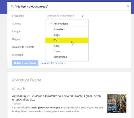 Google Alertesréintroduit la veille sur le Web (connexion obligatoire via un compte Google) | veillepédagogique | Scoop.it