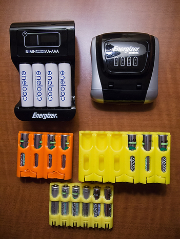 Rechargeable Batteries and Organization for the Photographer | The Smart Camera | Scoop.it