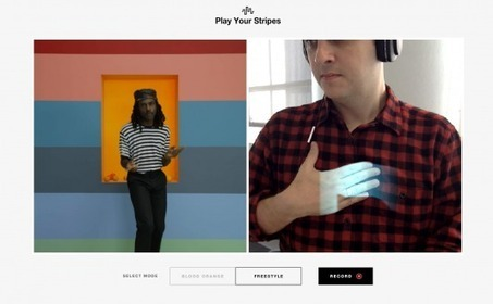 GAP: Play Your Stripes With Augmented Reality | Digital Buzz Blog | AR | Scoop.it