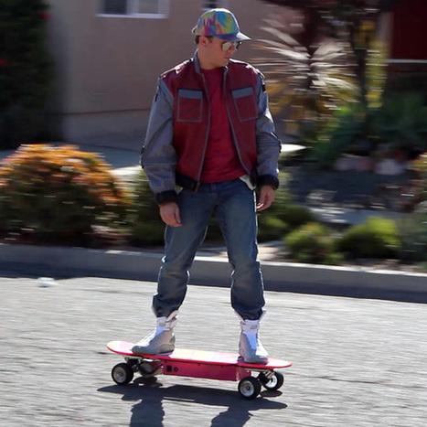 #Geek : finalement, l'Hoverboard de Marty McFly ne volera pas en ... - Mac4ever | Geek & Games | Scoop.it