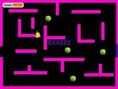 λαβύρινθος pacman on Scratch | Παιχνίδια με το Scratch | Scoop.it