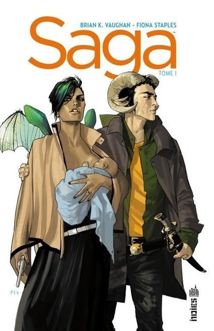 Chronique : Saga -1- Tome 1 (Urban Comics) | Livres & lecture | Scoop.it