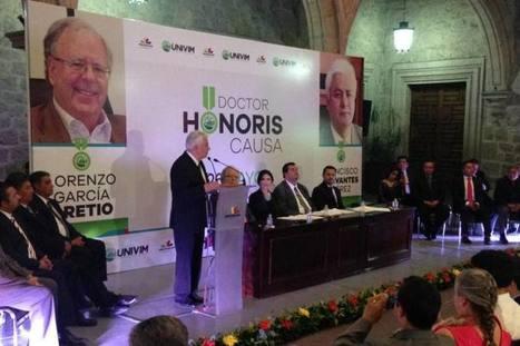 Entrega Univim el reconocimiento Doctor Honoris Causa | Educación a Distancia y TIC | Scoop.it